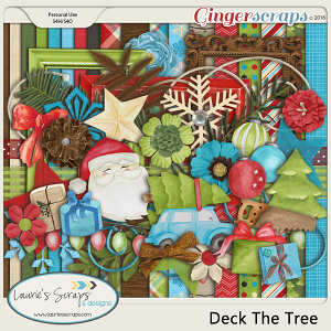 Deck The Tree - Page Kit