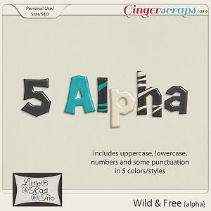Wild & Free {alpha} by Little Rad Trio