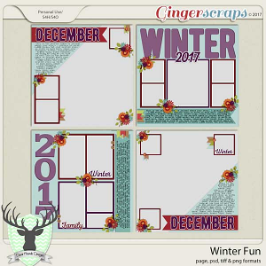 Winter Fun Templates