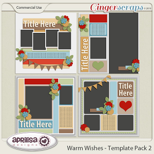 Warm Wishes - Template Pack 2