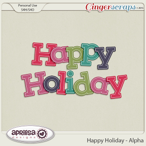 Happy Holiday - Alpha