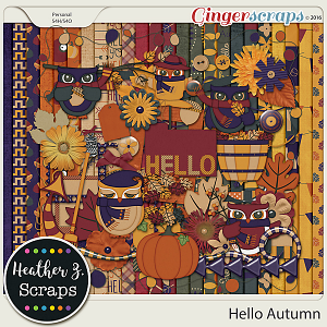 Hello Autumn KIT by Heather Z Scraps