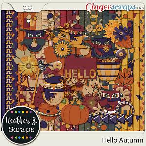 Hello Autumn KIT by Heather Z Scraps