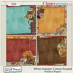 Retiring Soon - When Autumn Comes Around - PreDeco Papers