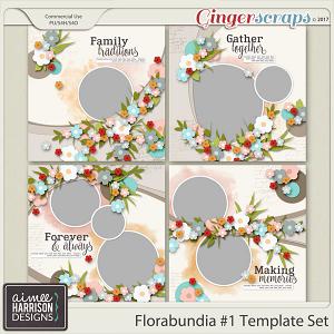 Florabundia #1 Templates