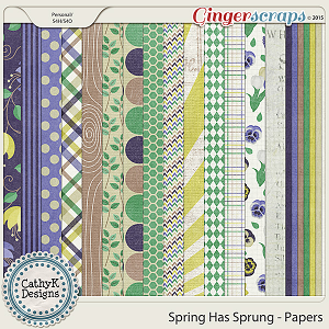 Spring Has Sprung - Papers