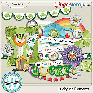 Lucky Me Elements by Kathy Winters Designs