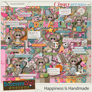 Happiness is Handmade by BoomersGirl Designs