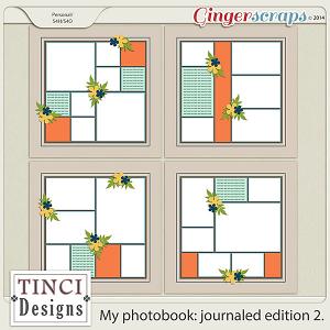 My photobook: journaled edition 2.