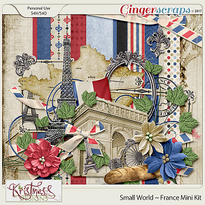 Small World ~ France Mini Kit