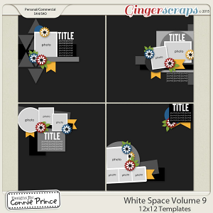 White Space Volume 9 - 12x12 Temps (CU Ok)