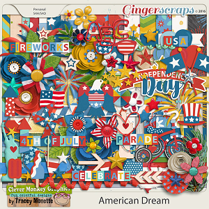 American Dream by Clever Monkey Graphics