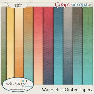 Wanderlust Ombre Papers