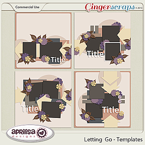 Letting Go Templates by Aprilisa Designs
