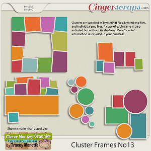 Cluster Frames No13 by Clever Monkey Graphics