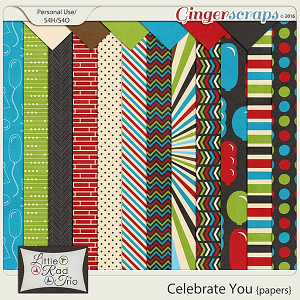 Celebrate You {papers} by Little Rad Trio