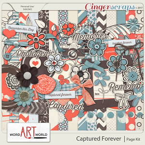 Captured Forever Page Kit