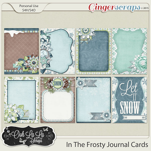 In The Frosty Air Journal Cards
