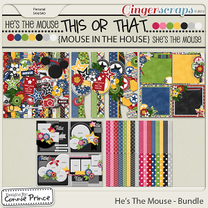 He's The Mouse - Bundle