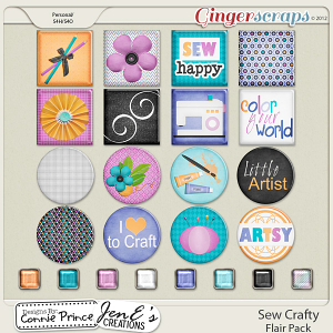 Retiring Soon - Sew Crafty - Flair Pack