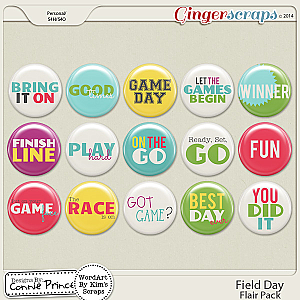 Field Day - Flair Pack