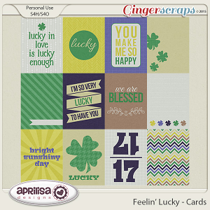 Feelin' Lucky - Cards by Aprilisa Designs