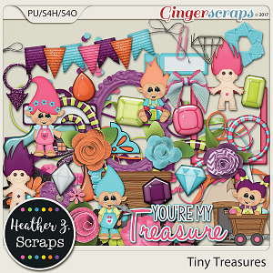Tiny Treasures ELEMENTS by Heather Z Scraps