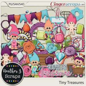 Tiny Treasures ELEMENTS by Heather Z Scraps