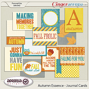 Autumn Essence - Journal Cards