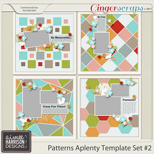 Patterns A Plenty #2 Templates By Aimee Harrison