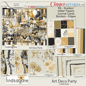 Art Deco Party Collection by Lindsay Jane