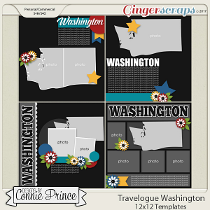 Travelogue Washington - 12x12 Temps (CU Ok)