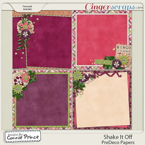 Shake It Off - PreDeco Papers
