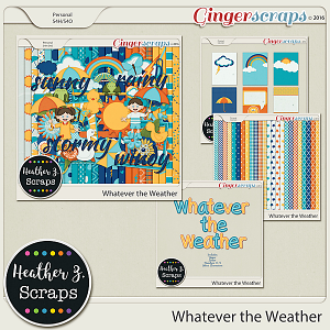 Whatever the Weather BUNDLE by Heather Z Scraps