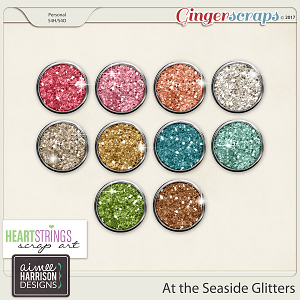 At the Seaside Glitters
