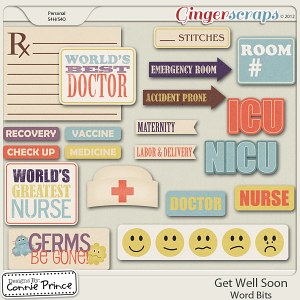 Get Well Soon -  WordBits