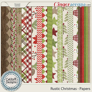 Rustic Christmas - Papers