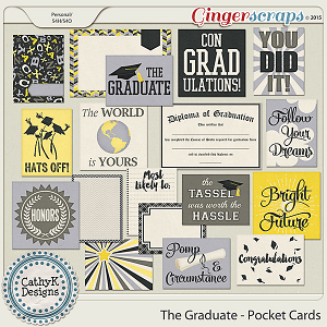 The Graduate - Pocket Cards