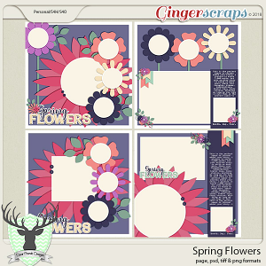 Spring Flowers by Dear Friends Designs