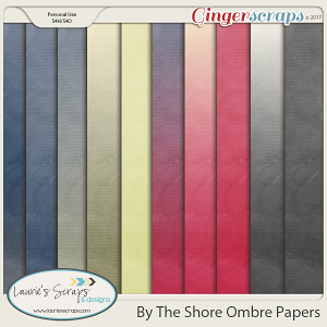 By The Shore Ombre Papers