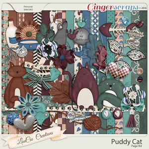 Puddy Cat Page Kit