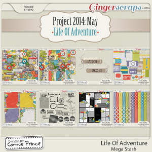 Project 2014 May:  Life Of Adventure - Mega Stash