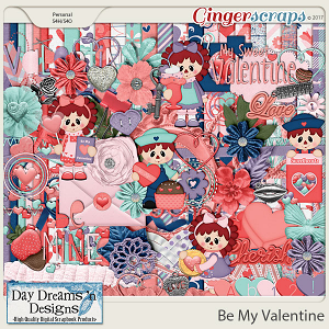 Be My Valentine {Kit} by Day Dreams 'n Designs