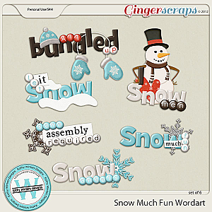 Snow Much Fun by Kathy Winters Designs