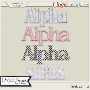 Think Spring Alphabets