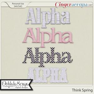 Think Spring Alphabets