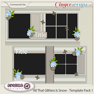 All That Glitters Is Snow - Template Pack 1