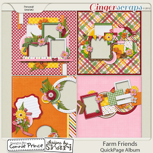 Farm Friends - QuickPage Album
