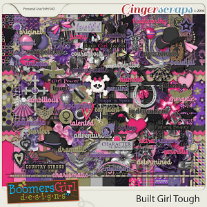 Built Girl Tough by BoomersGirl Designs