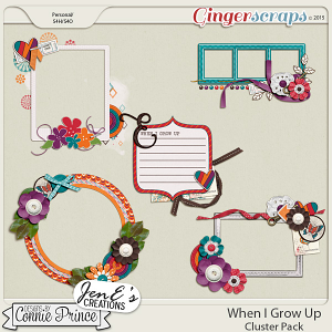 When I Grow Up - Cluster Pack